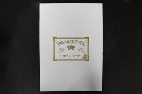 Crown Mill A4 Writing Pad - Pure Cotton