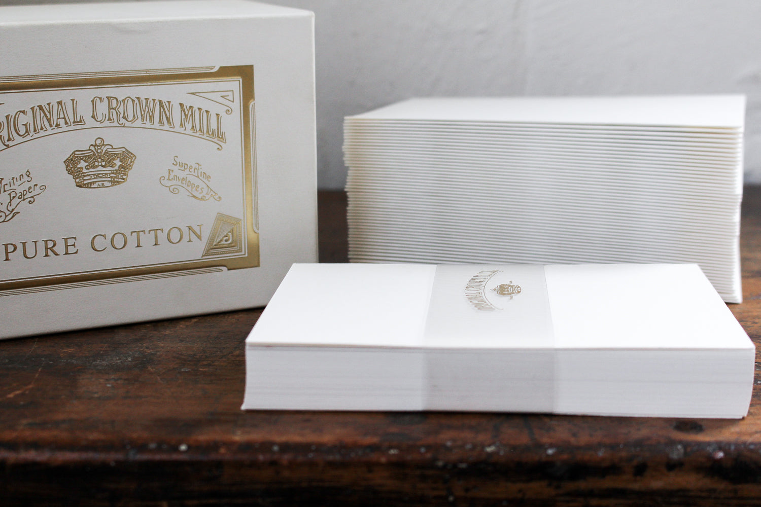Crown Mill Small Writing Set - Pure Cotton