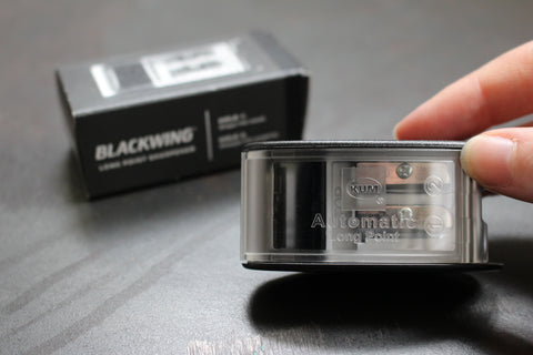 Blackwing Long Point Sharpener - Black