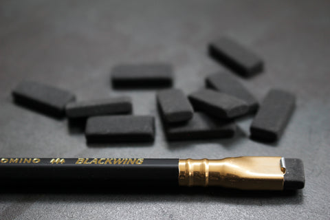 Blackwing Replacement Erasers - Black