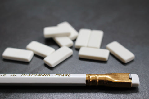 Blackwing Replacement Erasers - White