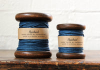 Paperphine Paper Twine on Wooden Spool - Jeans Blue