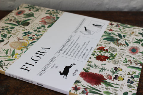 Pepin Press Gift & Creative Papers Book - Flora