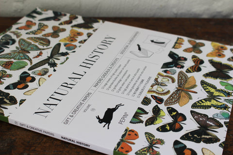 Pepin Press Gift & Creative Papers Book - Natural History