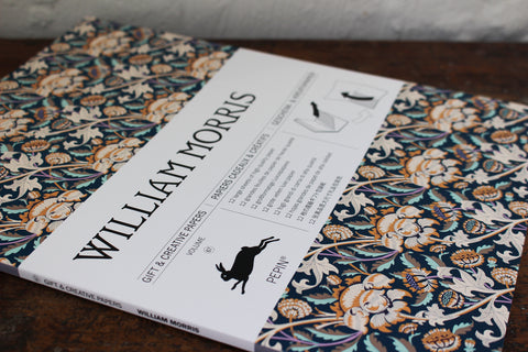 Pepin Press Gift & Creative Papers Book - William Morris