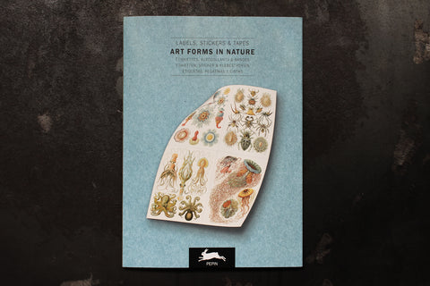 Pepin Press Label & Sticker Book - Art Forms In Nature