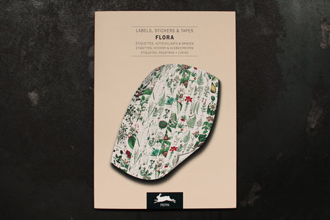 Pepin Press Label & Sticker Book - Flora