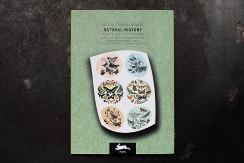 Pepin Press Label & Sticker Book - Natural History