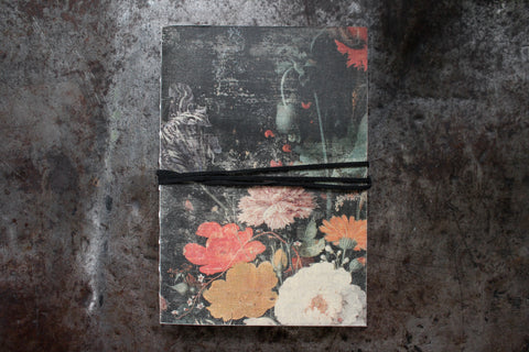 Slow Design Libri Muti Canvas Notebooks - Floral II