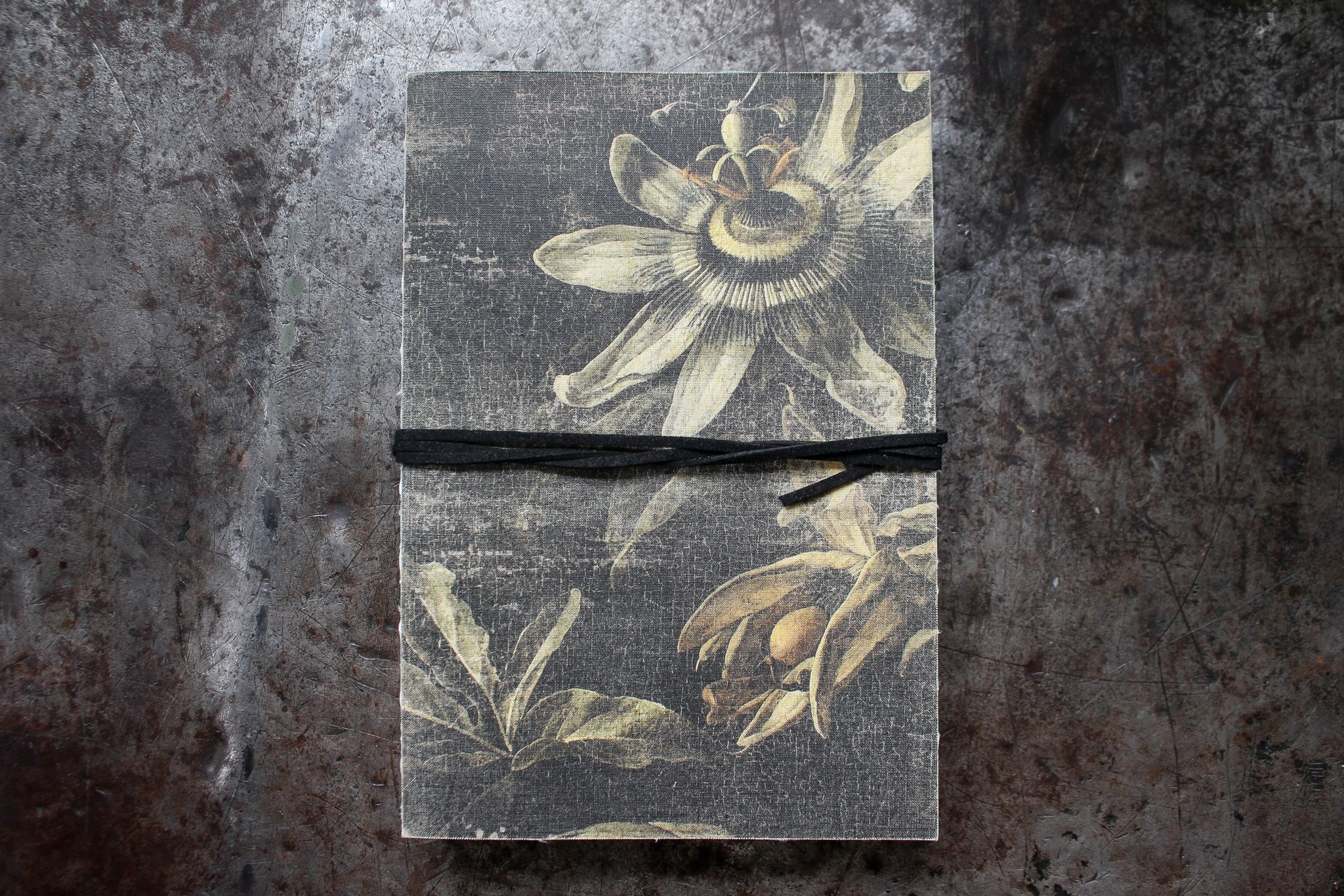 Slow Design Libri Muti Canvas Notebook - Passionflower