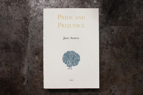 Slow Design Libri Muti Notebook - Pride & Prejudice
