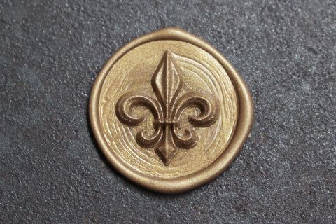 Stamptitude Heirloom Wax Seal Set - Fleur De Lis