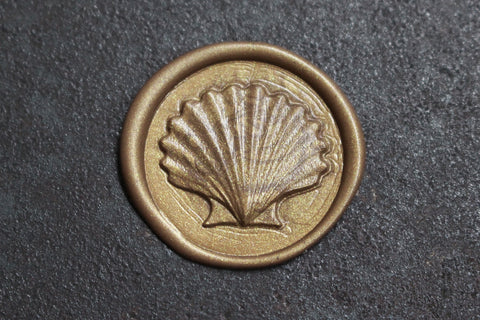 Stamptitude Heirloom Wax Seal Set - Seashell