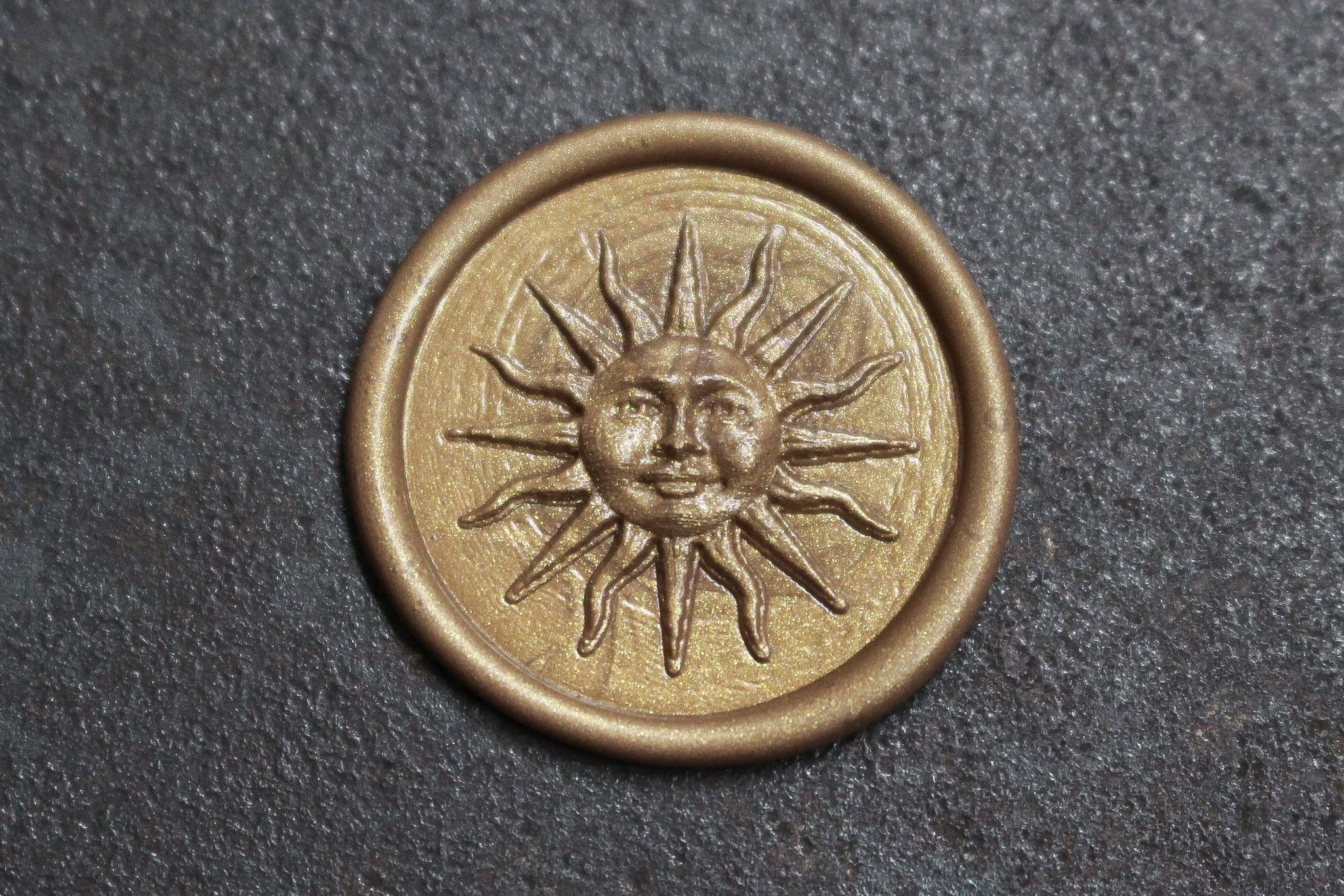 Raleigh Paper Brass Wax Stamp - Sol