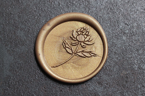 Stamptitude Wax Seal Set - Peony