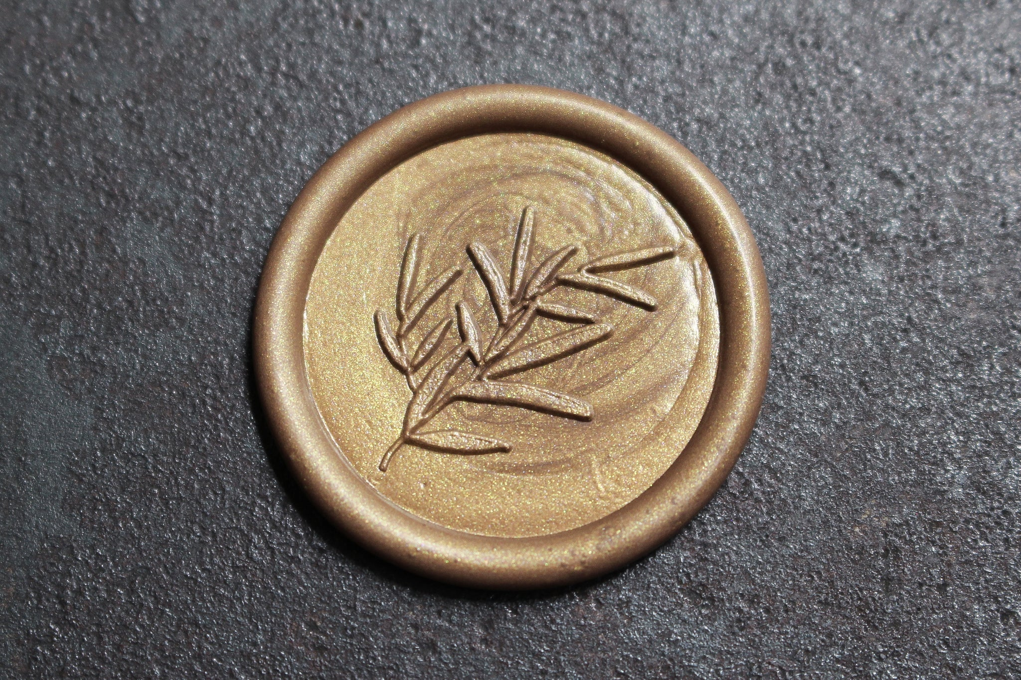 Stamptitude Wax Seal Set - Sage Sprig