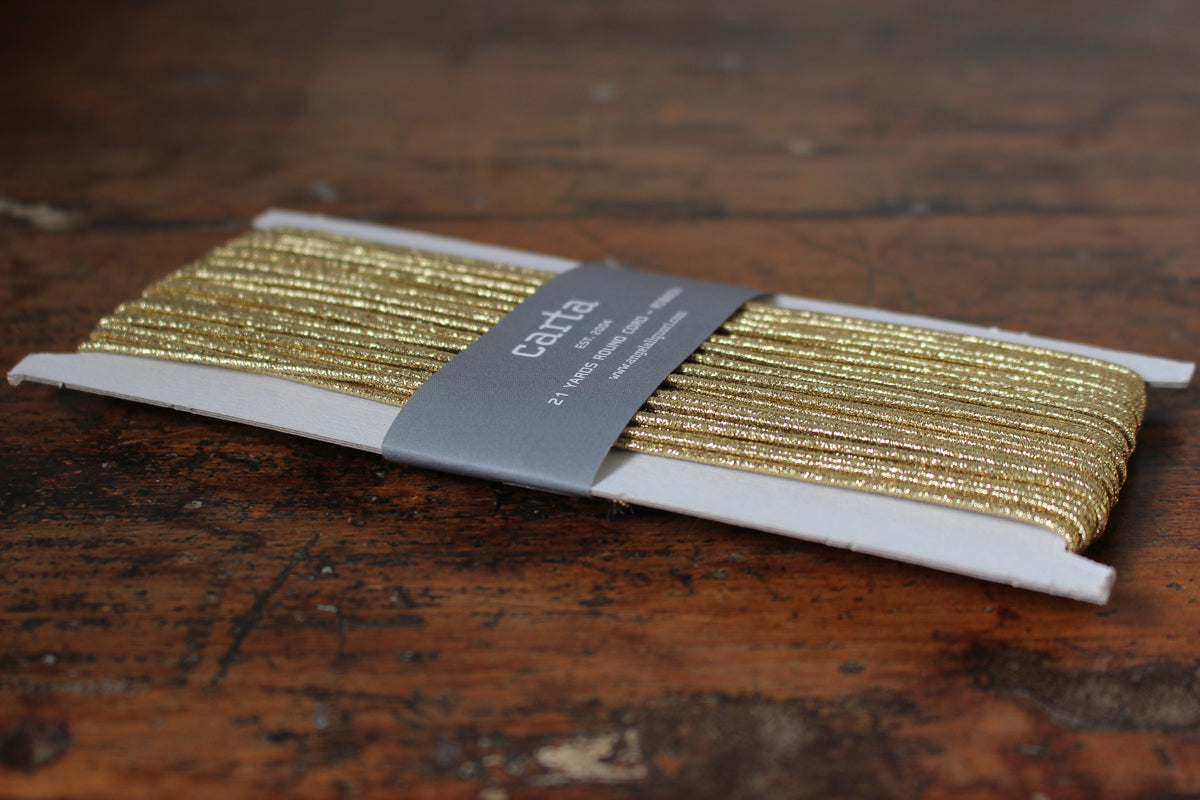 Studio Carta Elastic Cord - Gold