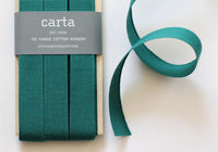 Studio Carta Tight Weave Cotton Ribbon Paddle - Jade