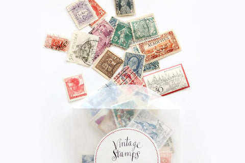 Studio Carta Vintage Stamps