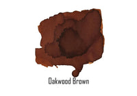Van Dieman's Ink Fountain Pen Ink - Oakwood Brown