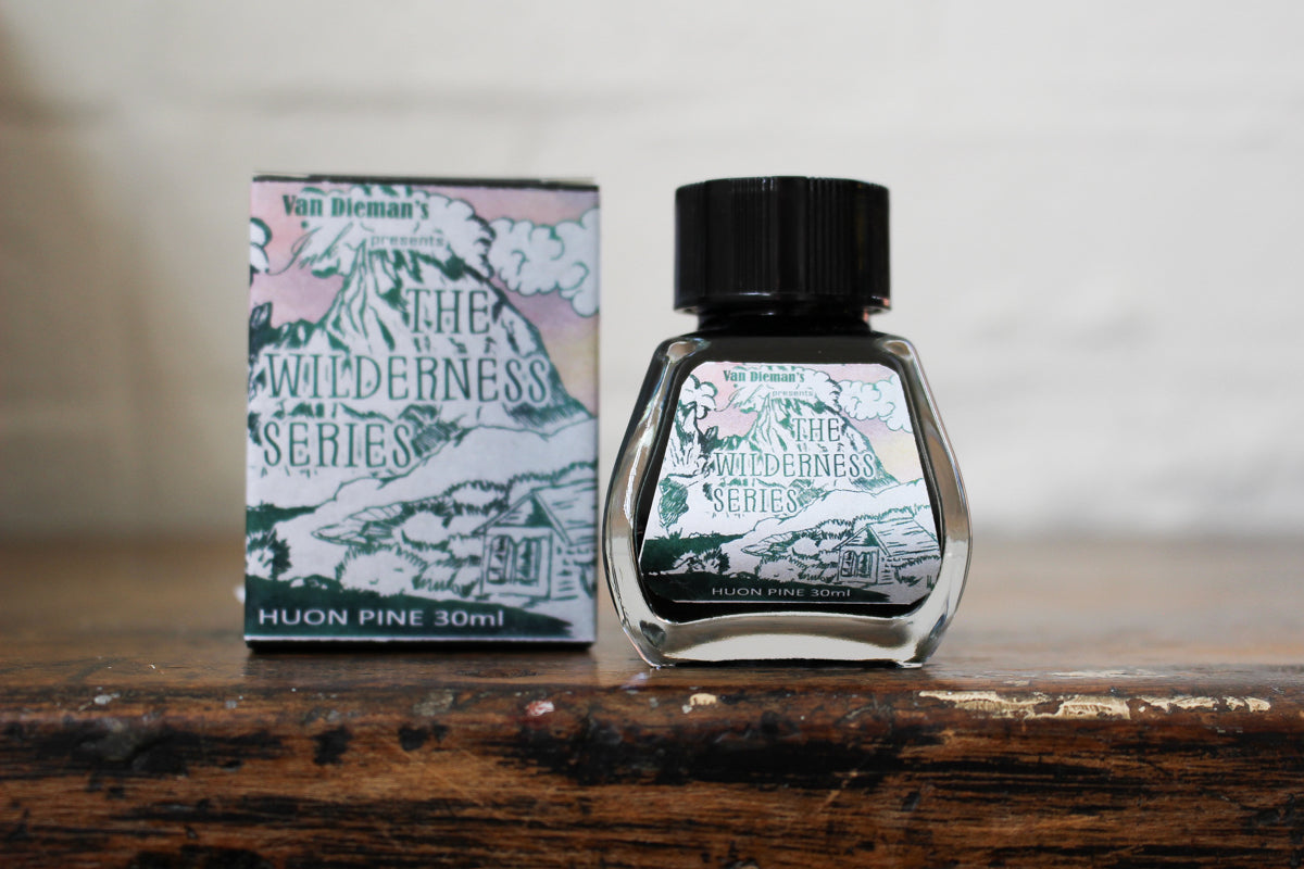 Van Dieman's Ink Fountain Pen Ink - Huon Pine