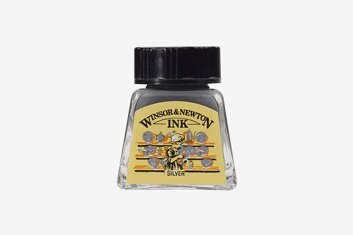 Winsor & Newton Drawing Ink - Silver