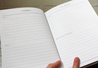 Write To Me Journal - Bump