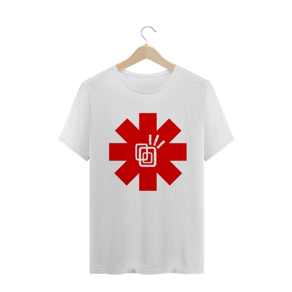 Camiseta Red Hot Chili Peppers Tribos Urbanas - T-Shirt Rock Prime