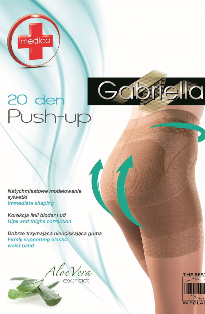 Gabriella Classic Medica Push Up 127 Nero