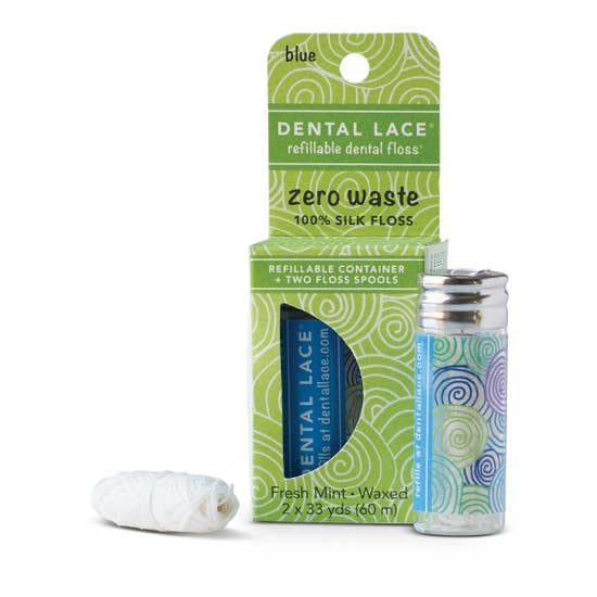 Refillable Dental Floss