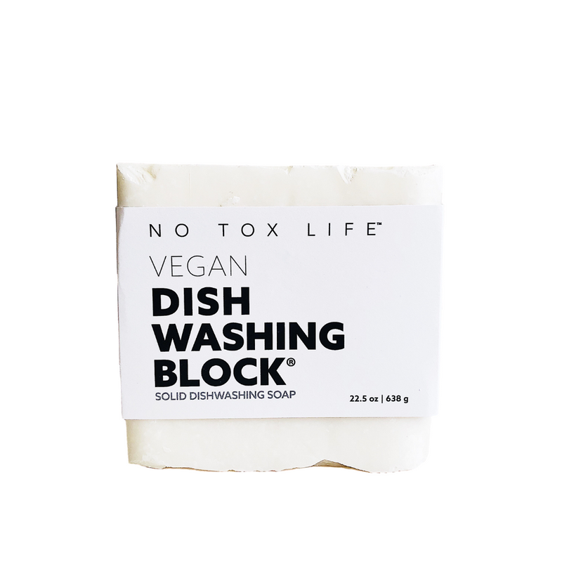 Vegan Dish Washing Block