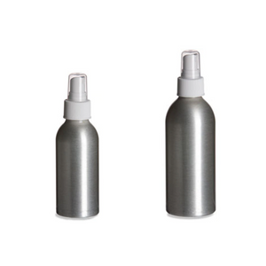 Refillable Aluminum Bottle w/ Atomizer