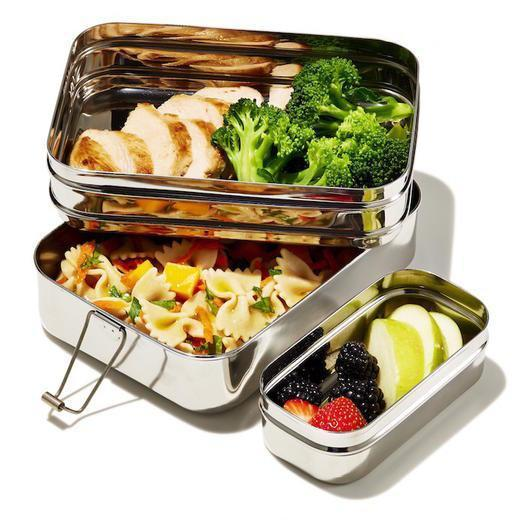 Three-in-One Stainless Steel Lunchbox