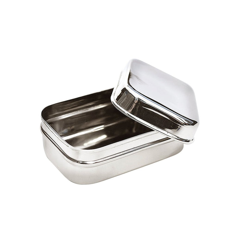 Small Stainless Snack Container - Rectangle