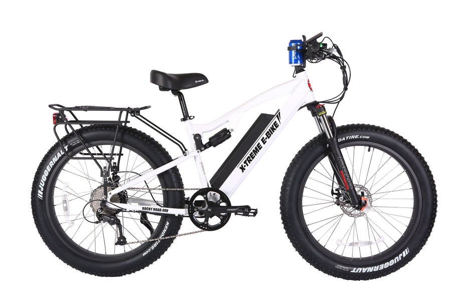 Rocky Road 48V Fat Tire e Mountain Bike