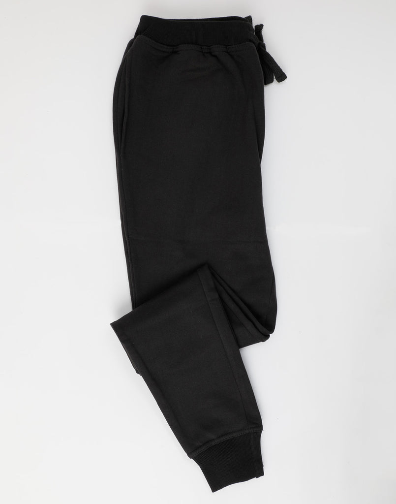Super Soft Sweat Pants Black -Black