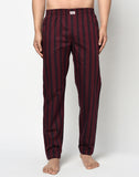 MAROON STRIPES PYJAMA
