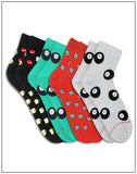 ANKLE LENGTH SOCKS - PACK OF 4