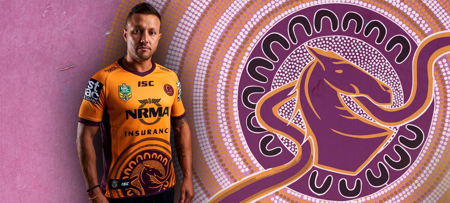 Broncos Indigenous Round Jersey by Charlie Chamber Jnr