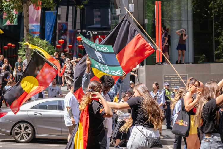 Invasion Day Rally, Melbourne, Australia