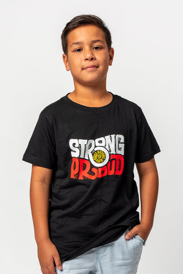 NAIDOC Care For Country Black Hoodie