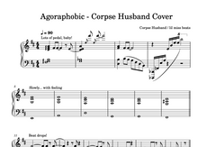 Load image into Gallery viewer, Corpse Agoraphobic Piano Sheet Music & Chords.