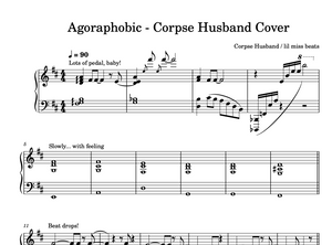 Corpse Agoraphobic Piano Sheet Music & Chords.
