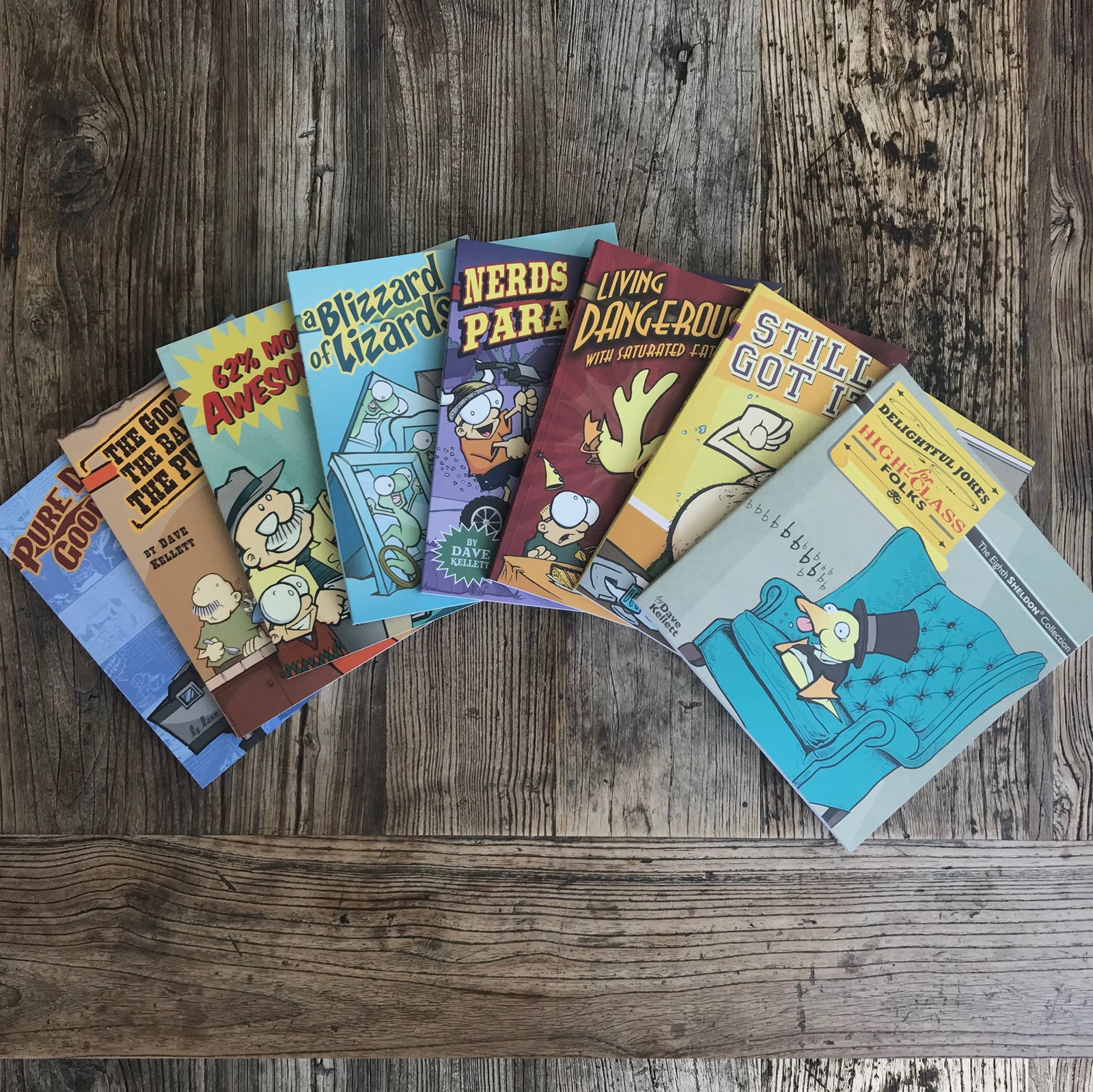 ALL 8 SHELDON BOOKS!