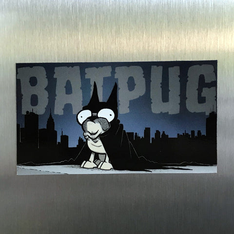 "NEW! ""Batpug"" Magnet"