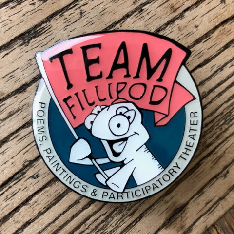 Team Fillipod Pin