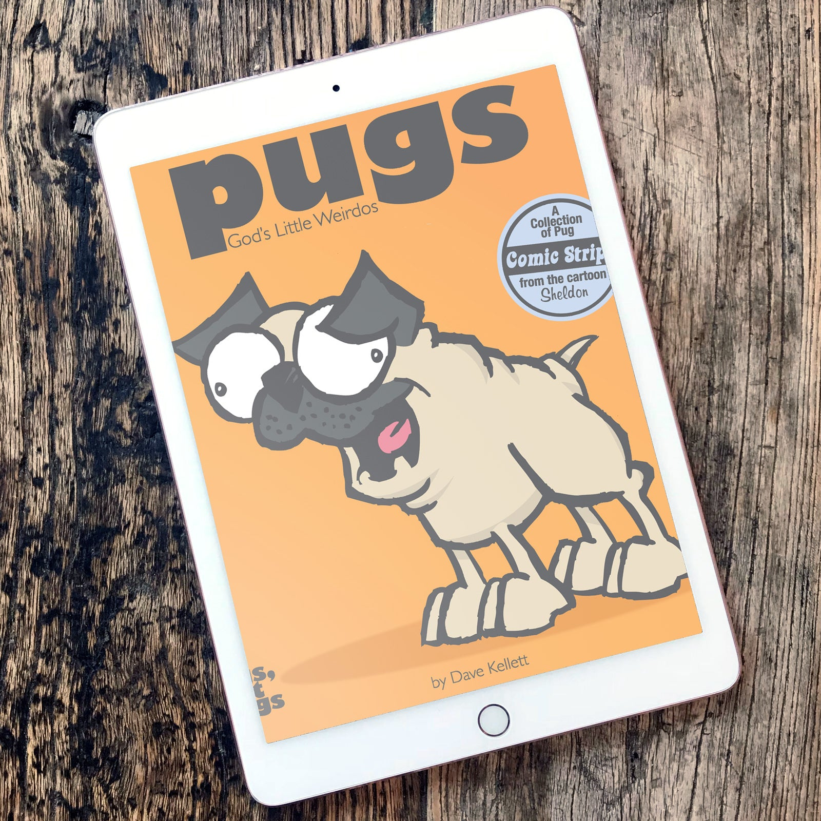 Pugs: God's Little Weirdos eBook