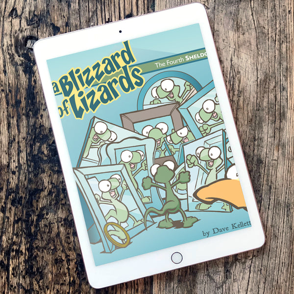 BOOK 4: A Blizzard of Lizards eBook