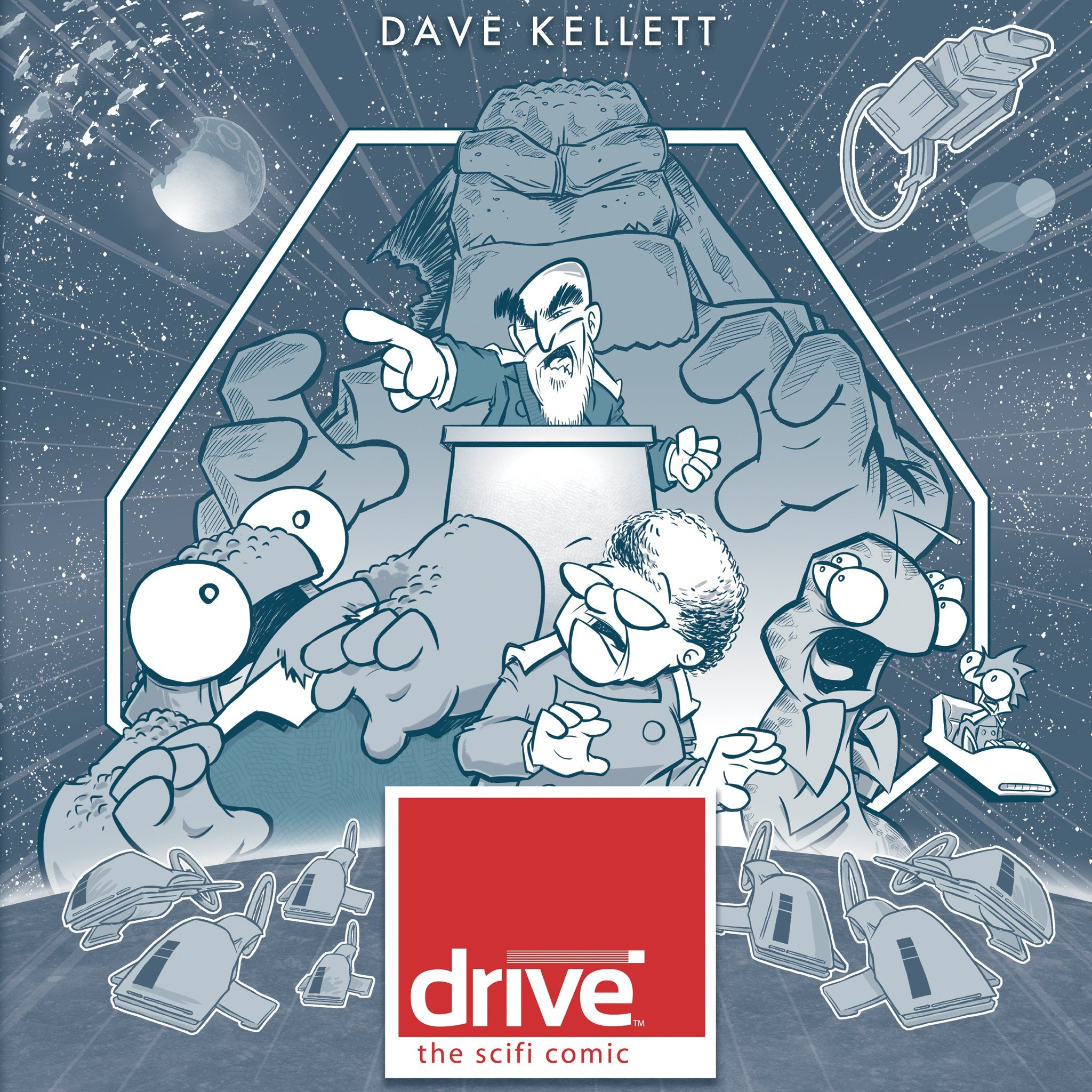 BUNDLE & SAVE: Drive Act 1 & 2 Hardcovers!