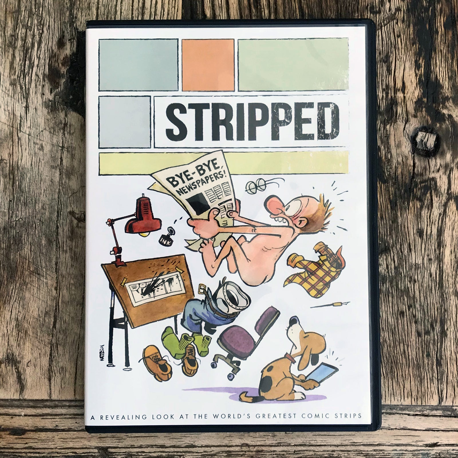 (DVD) Stripped: The Comics Documentary